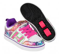 Heelys X2 Bolt Plus White/Silver/Rainbow